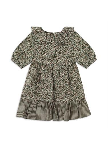 Panço Kız Bebek Elbise 2111GB26027 Yeşil